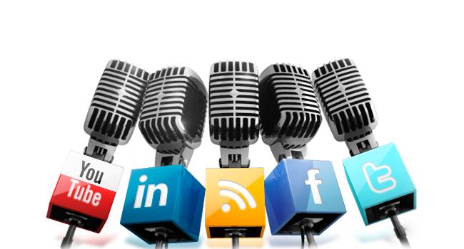 presencia redes sociales