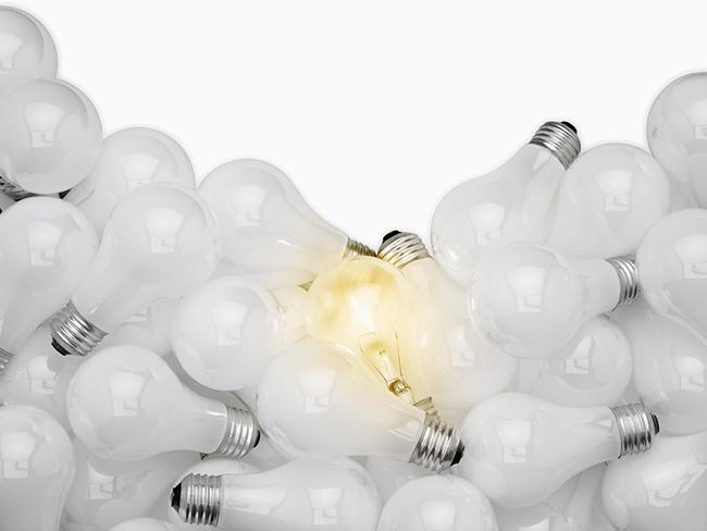 Pile of Lightbulbs
